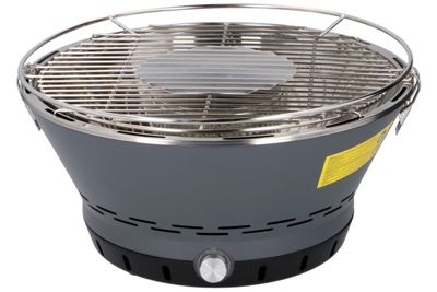 BBQ Time Fan Assisted Portable Charcoal Barbecue