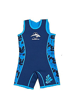 Konfidence Warma Wetsuit Blue Palm 6 to 7 Years