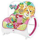 Fisher-Price Infant-to-Toddler Rocker Pink