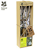 Charles Bentley National Trust Gift Set With Hand Fork & Cotton Gloves Gardening