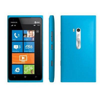 Nokia Lumia 900 Mobile Phone (Cyan)