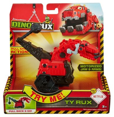 Dinotrux - Pull Back And Go - TY Rux