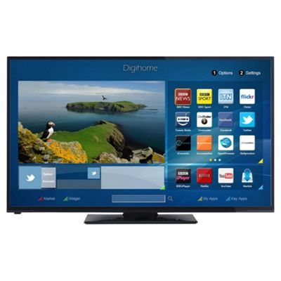 digihome 50278cntd smart full hd 50 inch led tv with builtin wifi - 50in Tv