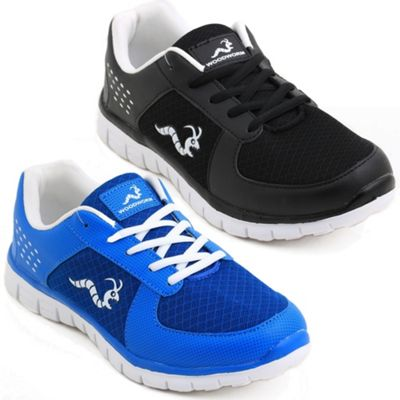 2 X Woodworm Mxt Mens Running Shoes / Trainers Size 9.5