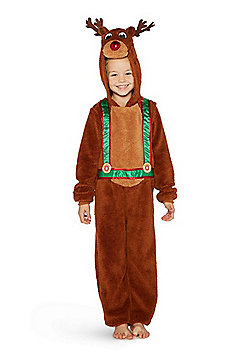 F&F Rudolph Reindeer Christmas Costume - Brown