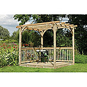 Forest Garden Ultima Pergola Deck Kit 2.4 x 2.4m