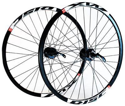 Wilkinson Mach 1 MX / Deore 9 Speed Disc Rear Wheel in Black