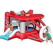 Aeroplane Bouncy Castle - Rideontoys4u