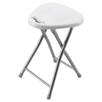 Buy Alana Folding Stool White From Our Bar Tables Amp Stools