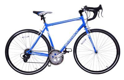 Ammaco Velocity Adults 14 Speed 700C Road Bike 48cm Frame Blue