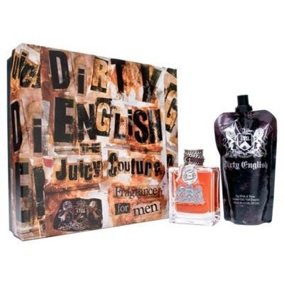 Juicy Couture Dirty English Gift Set 100ml & S/G 200ml