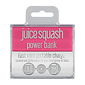 Juice Squash Powerbank Pink