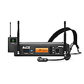 Alto Radius 100 H Professional UHF Diversity Wireless Headset Microphone system