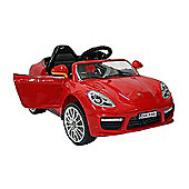 Kids Electric Car Luxury SUV 6 Volt Red