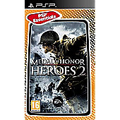 Medal Of Honor Heroes 2 (Essentials) - PSP