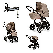 Hauck Soul Plus Trio with 2 x Isofix Base - Beige/Sand