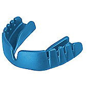 Opro Snap-Fit Junior Mouth Guard - Electric Blue - Blue