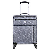Revelation by Antler Weightless 4 wheel Charcoal Cabin Suitcase