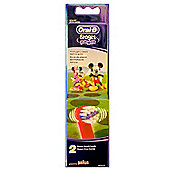 Oral-B Stages Power Kids Micky & Minnie Mouse Replacement Toothbrush Heads