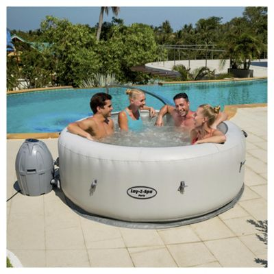 buy bestway lay z spa paris inflatable hot tub from our hot tubs range tesco. Black Bedroom Furniture Sets. Home Design Ideas