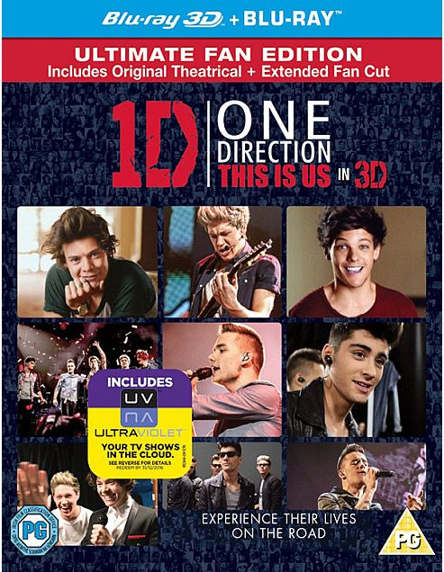 One Direction - This Is Us Blu-Ray 3D