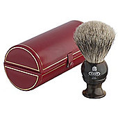 Kent Small Size Badger Bristle Horn Shaving Brush - H4