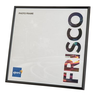 Kenro Frisco Black Square Photo Frame to hold a 12x12