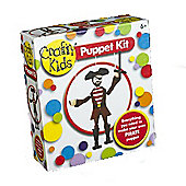 Crafty Kids Puppet Kit - Make your own Pirate Puppet 6yrs+