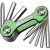 Acor Mini Allen Key / Screwdriver Set, Green