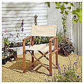Kingsbury Cream Directors Chair