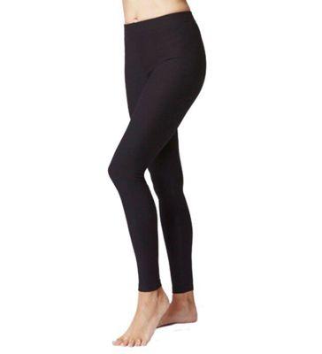 Women's Slimming Shaping Yoga Leggings Regular Length Black-4XL
