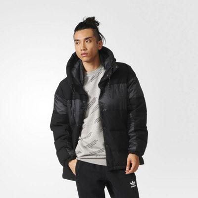 adidas Originals Mens ID96 Wool Down Winter Jacket - XL