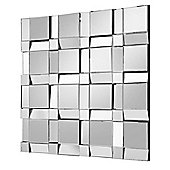 Mosaic Multi Faceted Wall Mirror