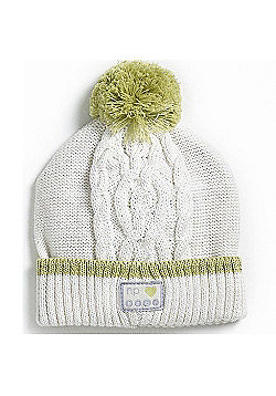 Natures Purest Kids Cable Pompom Hat (Onesize)