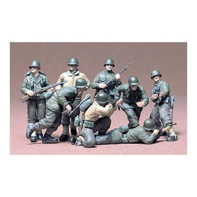 Tamiya 35048 U.S.Infantry Eur.Theater 1:35 Military Model Kit