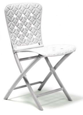 Nardi Zic Zac Spring Chair in White (Set of 2)