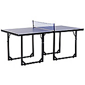 Homcom 183cm Mini Tennis Table Folding Ping Pong Table with Net