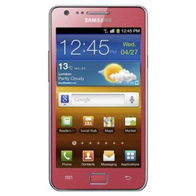 Unlocked Samsung Galaxy S II Pink -SIM Free