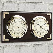 Marine Clock and Barometer