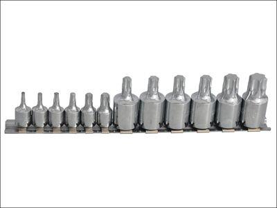 Blue Spot Tools Torx Socket Set of 12 1/4 & 3/8in Square Drive