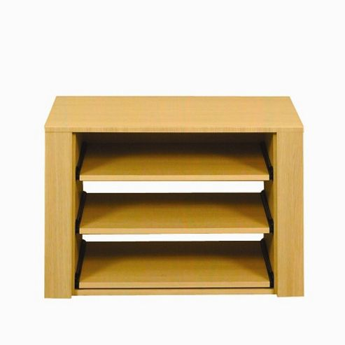 Caxton Melody Shelf Internal Pack in Natural Oak