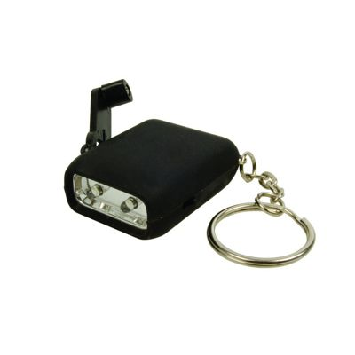 Wind-Up Micro Keyring Torch