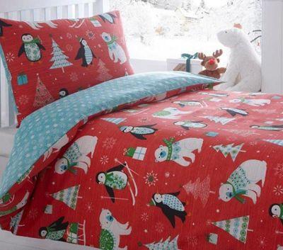 Frosty Friends King Size Bedding