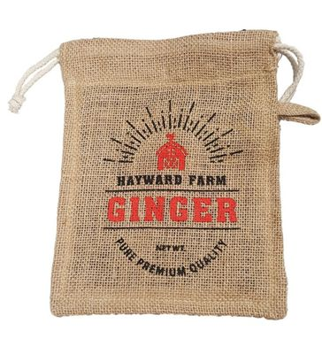 Eddingtons Hayward Farm Jute Ginger Storage Bag