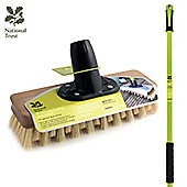 """Charles Bentley 9"""" Fsc Dexter Moss Busting Deck Broom"""