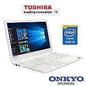 """Toshiba Satellite L50-C-1XQ 15.6"""" Laptop Intel Core i3-5005U 12GB RAM 1TB HDD"""