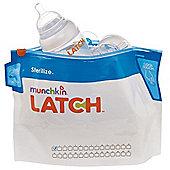 Munchkin Latch Steriliser Bags (6 Pack)