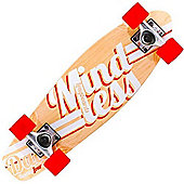 Mindless Longboards ML5150 Daily 24/7 Natural/White Stained Complete Cruiser Board