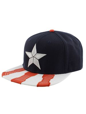 Captain America Marvel Civil War Snapback Cap