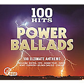 Various 100 Hits - Power Ballads (5CD)